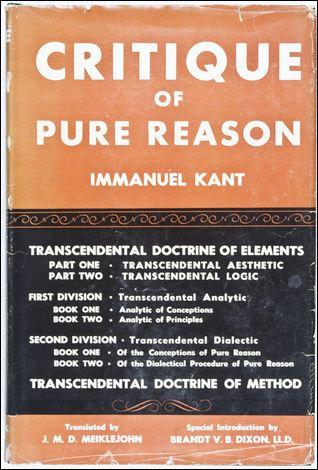 Critique of Judgement & Critique of Pure Reason by Emmanuel Kant