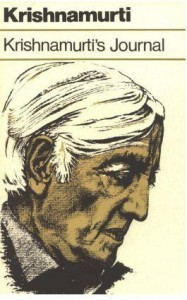 Krishnamurti Krishnamurtis journal pdf ebook