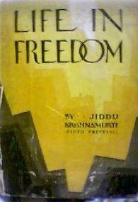Life in Freedom ebook by Jiddu Krishnamurti free download