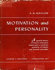 Motivation and Personality by Maslow PDF