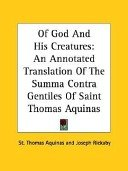 Of God and His Creatures by St Thomas Aquinas free ebook pdf