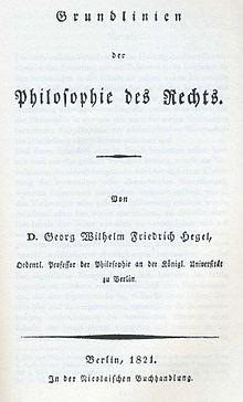 Philosophy of Right G.W.F. Hegel