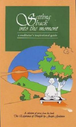 Settling Back into the Moment by Joseph Goldstein