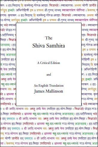 The Shiva Samhita – A Critical Edition