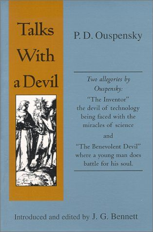 Talks With a Devil by P. D. Ouspensky