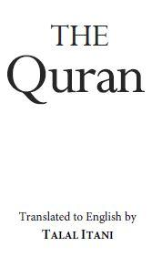 The Quran – a modern English translation