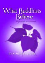 What Buddhists believe ebook cover
